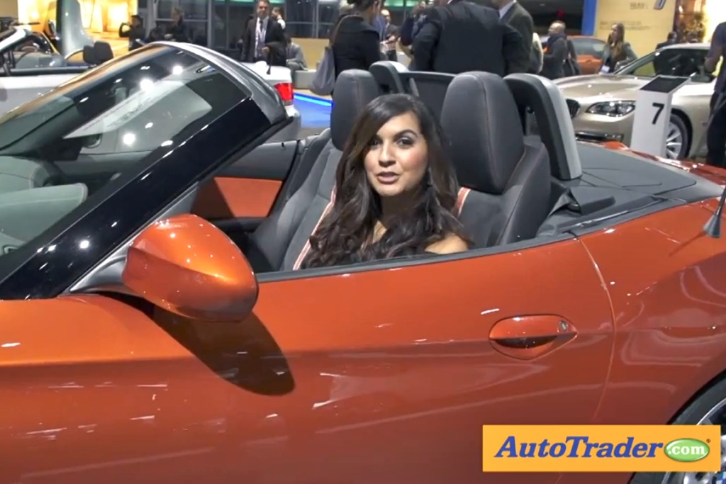2014 BMW Z4: Detroit Auto Show - Video