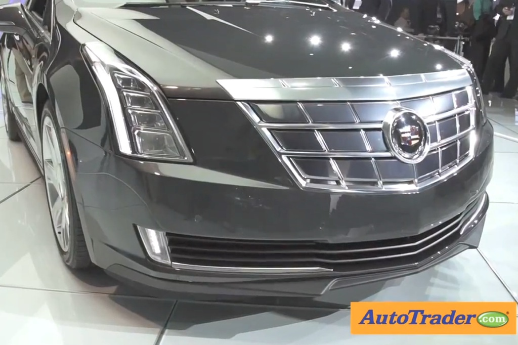 2014 Cadillac ELR: Detroit Auto Show - Video