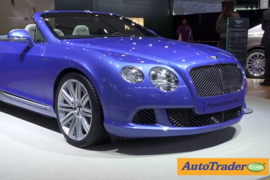 2013 Bentley Continental GT Speed Convertible: Detroit Auto Show - Video