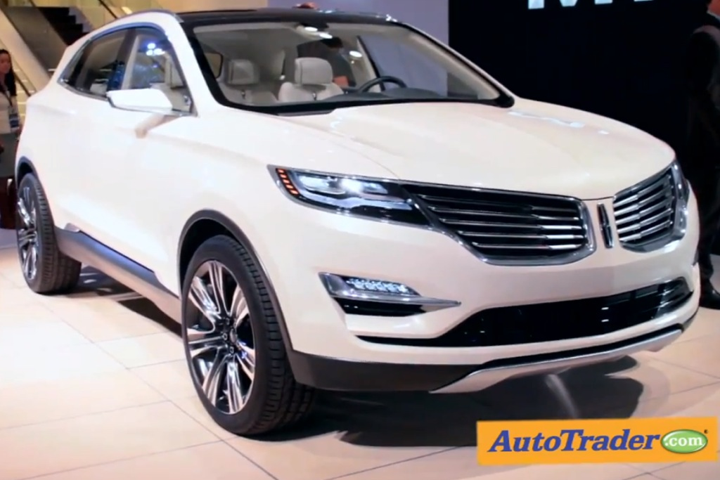 Lincoln MKC Concept: Detroit Auto Show - Video