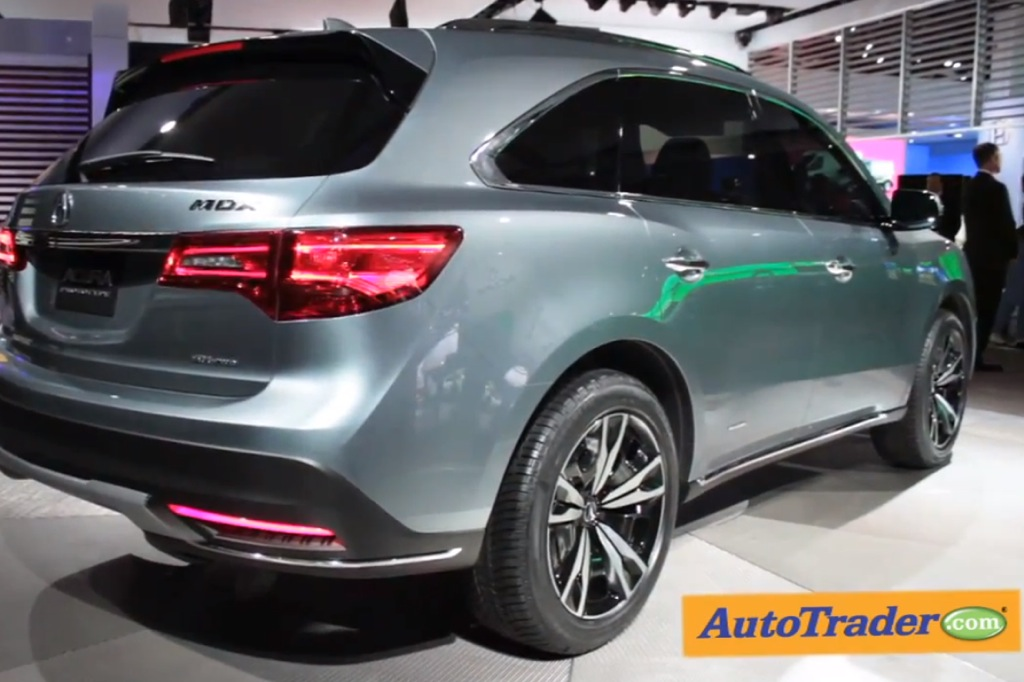 Acura MDX Concept: Detroit Auto Show - Video