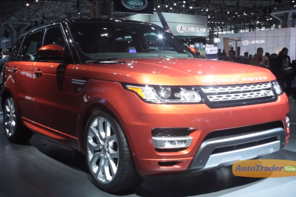 2014 Range Rover Sport: New York Auto Show - Video