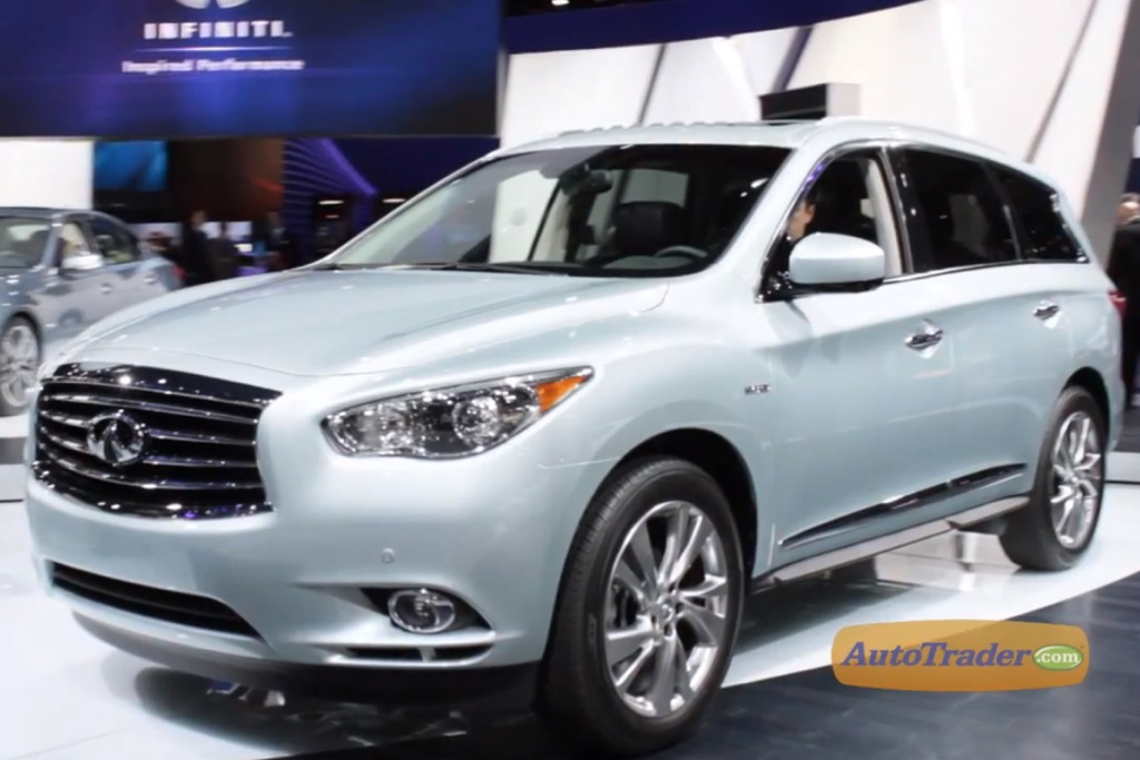 2014 Infiniti QX60 Hybrid: New York Auto Show - Video