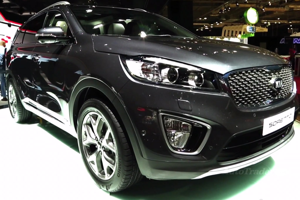 2016 Kia Sorento: Paris Auto Show - Video