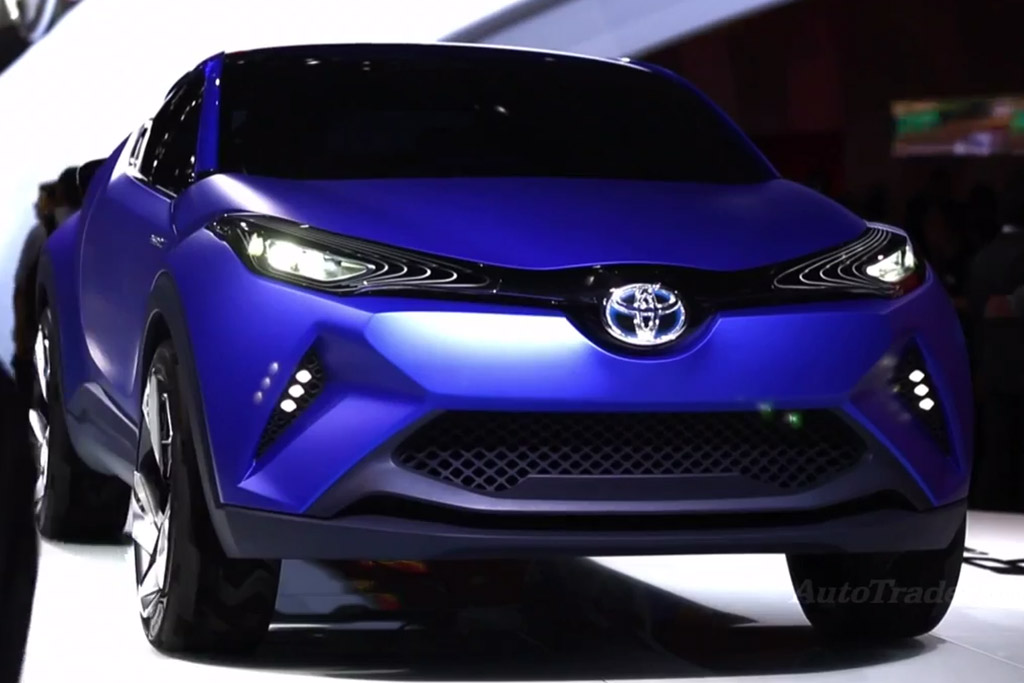Toyota C-HR Concept: Paris Auto Show - Video