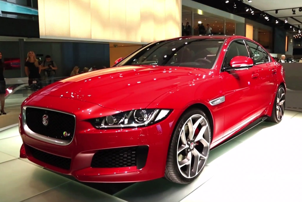 2016 Jaguar XE: Paris Auto Show - Video