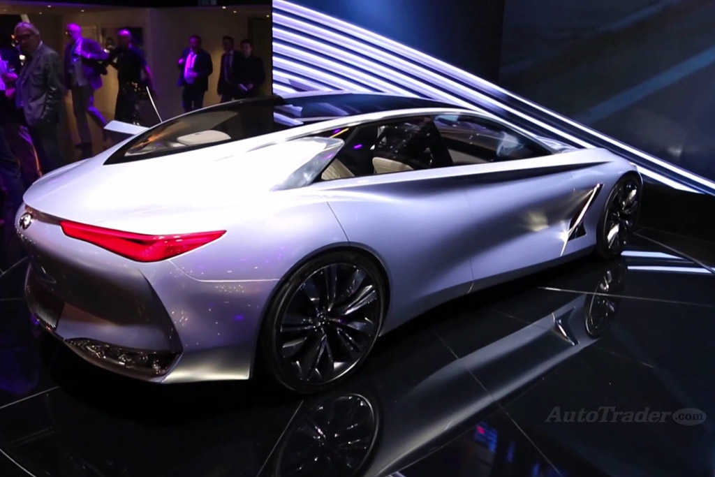Infiniti Q80 Inspiration Concept: Paris Auto Show - Video