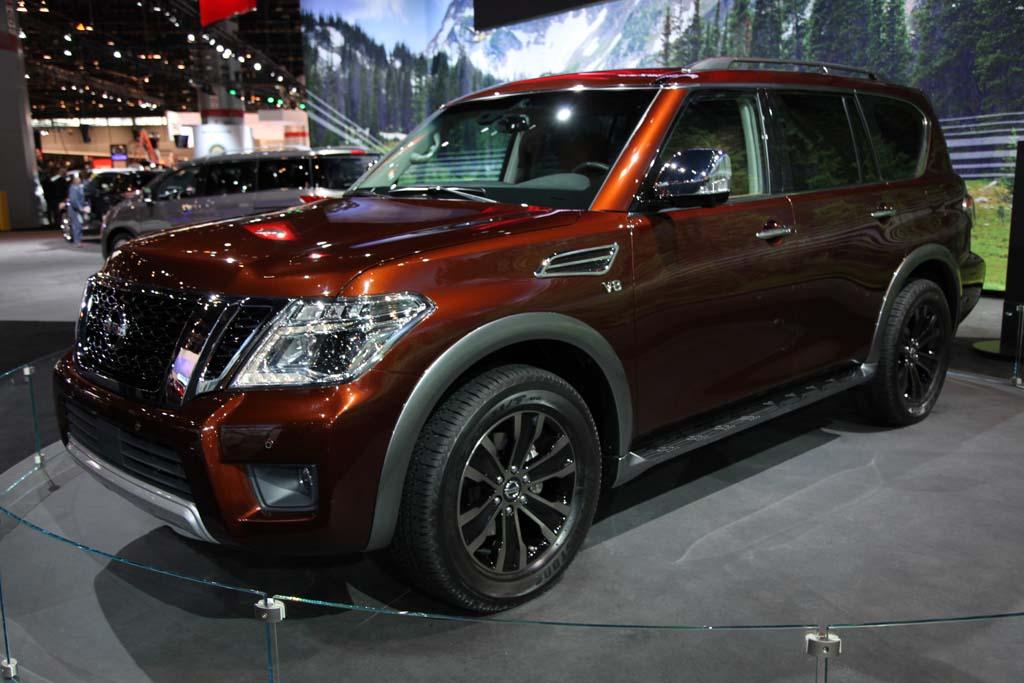 2017 Nissan Armada: Chicago Auto Show