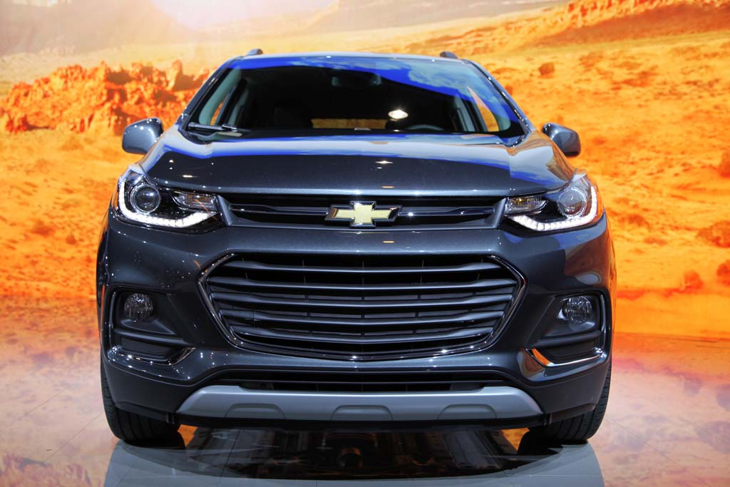 2017 Chevrolet Trax: Chicago Auto Show