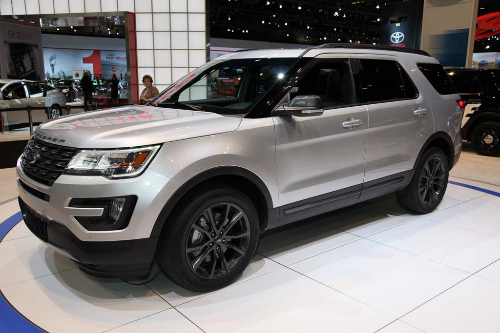 Ford Explorer Special Editions: Chicago Auto Show