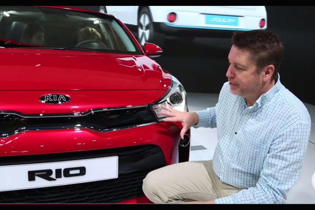 2018 Kia Rio: Paris Auto Show - Video