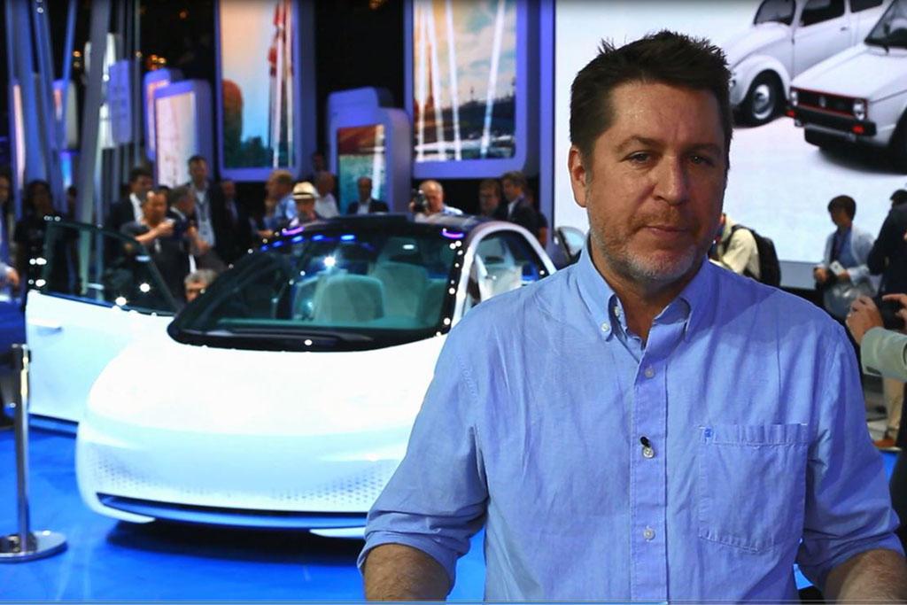 Volkswagen I.D. Electric Concept Car: Paris Auto Show - Video