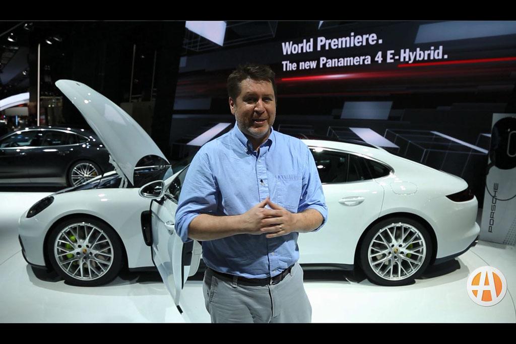 2018 Porsche Panamera 4 E-Hybrid: Paris Auto Show - Video