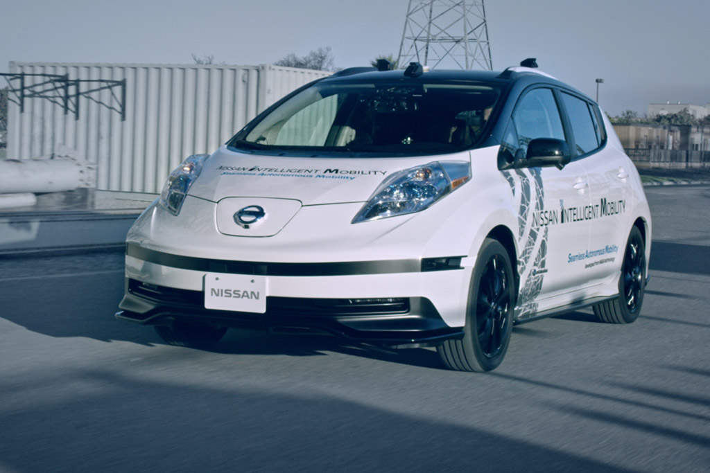 CES 2017: Nissan Overcomes Tricky Autonomous Vehicle-to-Human Communication Issue