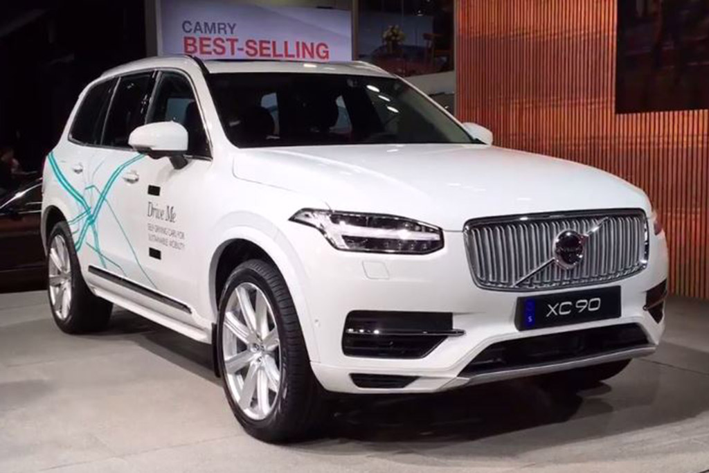"Volvo ""Drive Me"" XC90: Detroit Auto Show - Video"