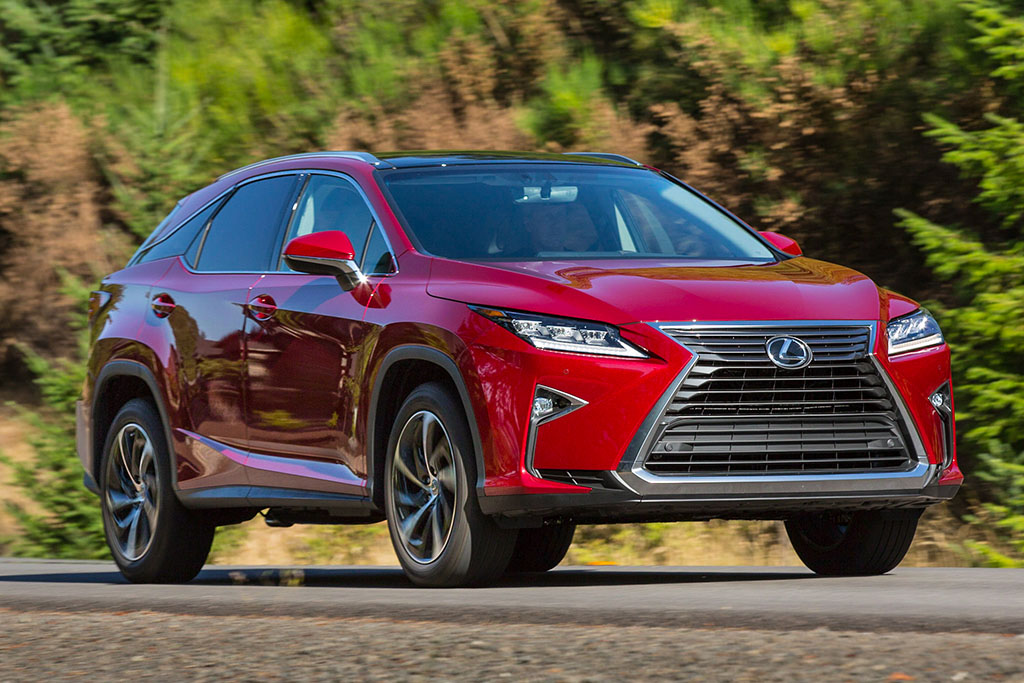 Lexus RX: Yearly Changes