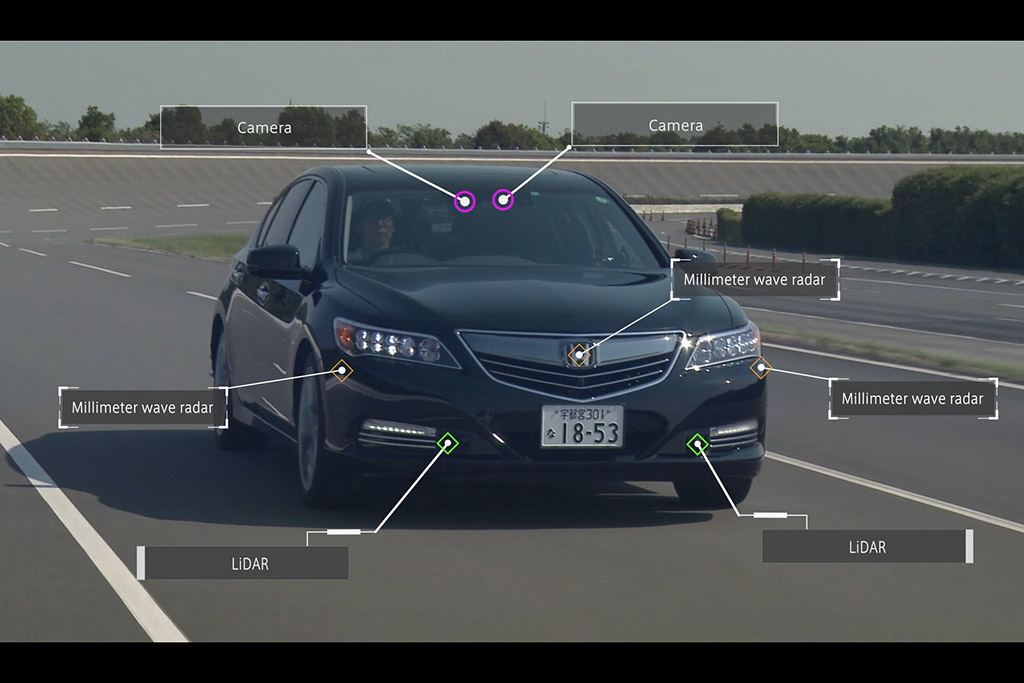 Self-Driving Cars: Honda Sets 2020 as Target for Highly Automated Freeway Driving