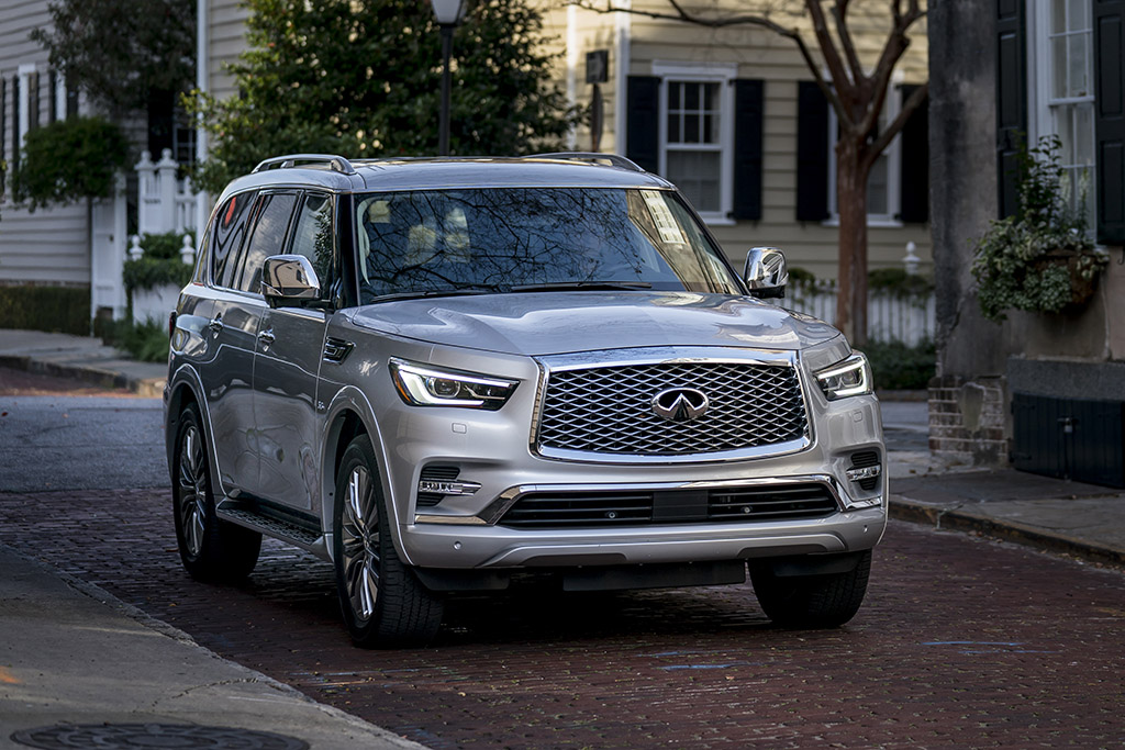 2018 Infiniti QX80: 5 Features Targeting Families
