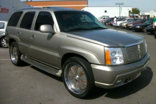 For Sale on AutoTrader: Suge Knight's Cadillac Escalade featured image large thumb0