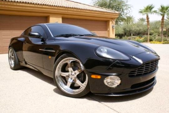 For Sale on AutoTrader: Reggie Sander's Aston Martin Vanquish featured image large thumb0