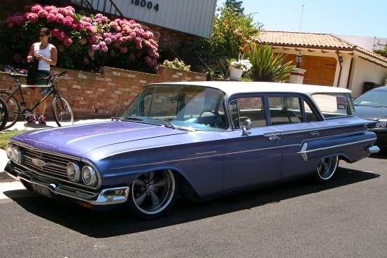 For Sale on AutoTrader: 1960 Chevrolet Wagon from an MTV Show featured image large thumb0