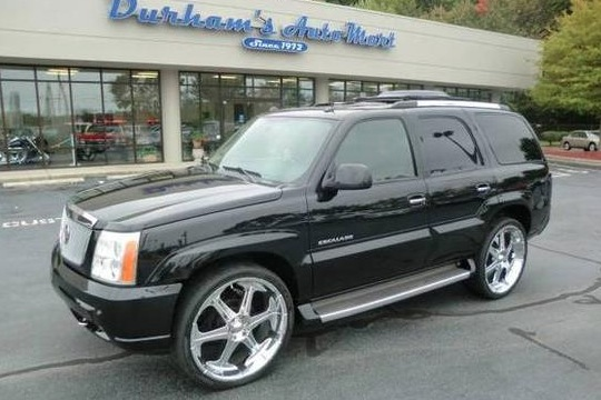 For Sale on AutoTrader: Basketball Player's Custom Escalade featured image large thumb0