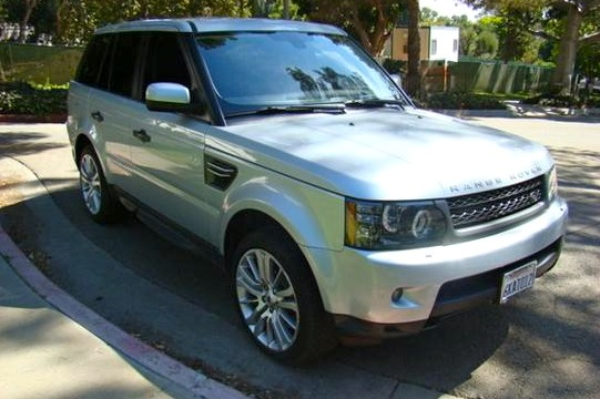 For Sale On AutoTrader: World Series Champ's Range Rover Sport featured image large thumb0