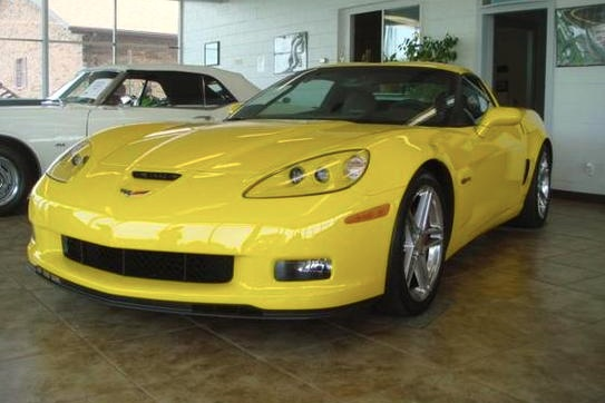 NASCAR Racer Hornaday's Corvette: For Sale on AutoTrader featured image large thumb0