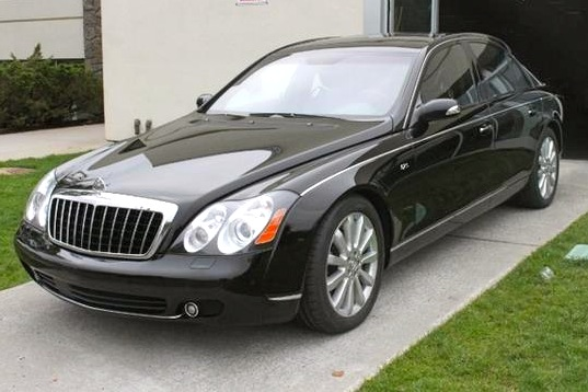 NFL's Plaxico Burress' Maybach 57S: For Sale on AutoTrader