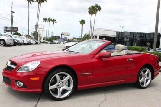 Dick Vitale's Mercedes SL550: For Sale on AutoTrader