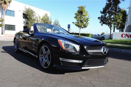 Stallone's 2013 Mercedes-Benz SL63 AMG: For Sale on AutoTrader.com