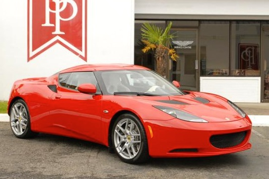 For Sale on AutoTrader: Lotus Evora from Desperate Housewives, Baldwin Event