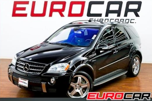 For Sale on AutoTrader: Boxing Champion's Mercedes ML63 AMG