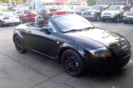 For Sale on AutoTrader: Indy Racer's Audi TT