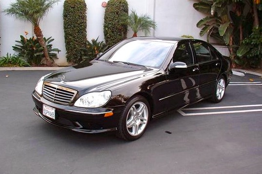 For Sale on AutoTrader: Hideki Irabu's Mercedes S500
