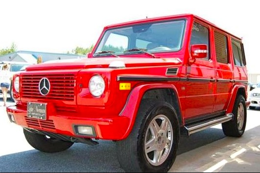 For Sale on AutoTrader: Red Robin Mercedes G500