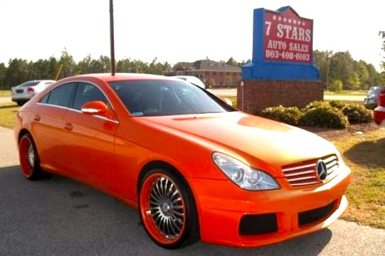 For Sale on AutoTrader: Rap Video's Mercedes CLS