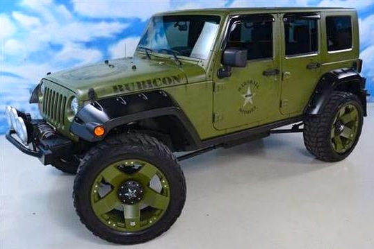 For Sale on AutoTrader: NFL All-Pro Jason Babin's Jeep