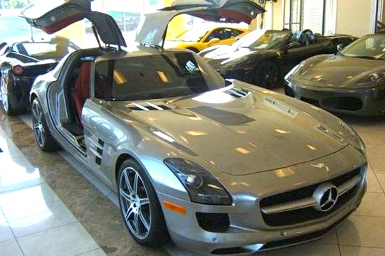 For Sale on AutoTrader: Enrique Iglesias' Mercedes SLS