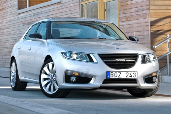 Saab Updates 9-5 for 2012