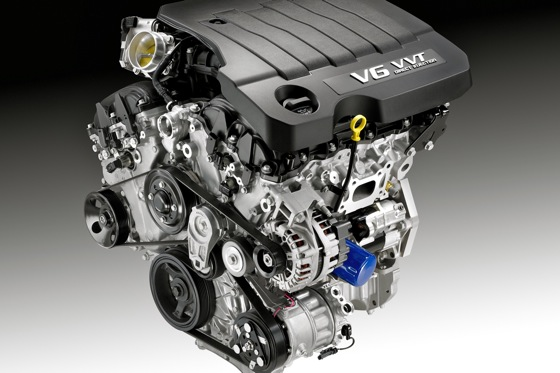 New V6 Engine for 2012 Buick LaCrosse
