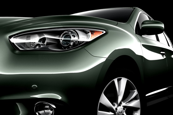 Infiniti Teases New JX Crossover on Facebook featured image large thumb0