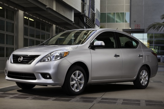 2012 Nissan Versa Still Cheapest New Car