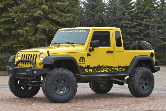 Jeep Releases JK-8 Kit for Wrangler