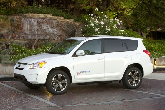 Toyota Will Sell RAV4 EV to Public
