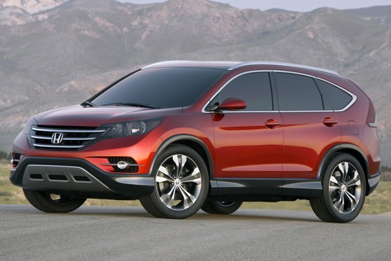 Honda Shows Off Edgy New CR-V Concept featured image large thumb0