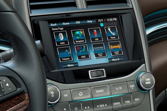 The 2013 Chevrolet Malibu to Get Wireless Media Access featured image large thumb0