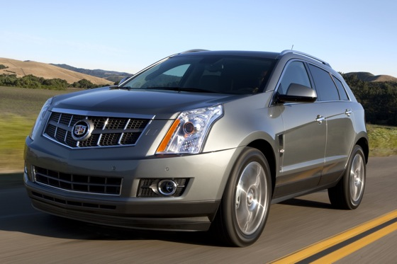 Cadillac Revises SRX For 2012