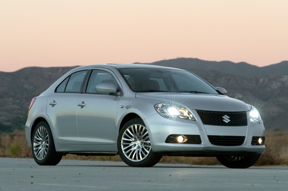 Suzuki Kizashi Takes to the Road, Headed Your Way