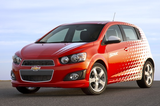 Chevrolet Sonic Goes Into Production featured image large thumb0